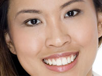 photo showing cosmetic dentistry