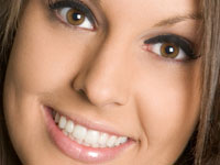 photo showing cosmetic dentistry restorations